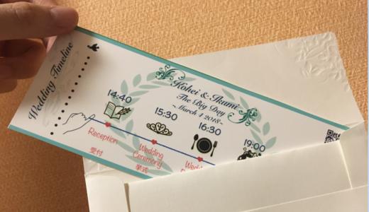 結婚式招待状に一味違った工夫を!
